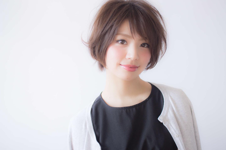 モテ髪ショートヘア